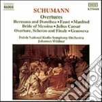 OUVERTURES: GENOVEVA OP. 81, BRIDE OF ME cd musicale di Robert Schumann