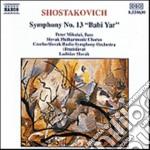 Sciostakovic Dmitri - Sinfonia N.13