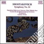 Sciostakovic Dmitri - Sinfonia N.14 cd musicale di Dmitri Sciostakovic