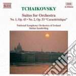 Tchaikovsky - Suites For Orchestra - National Symphony Orchestra Of Ireland cd musicale di Stefan Sanderling