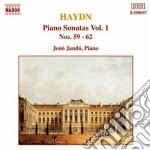 Haydn Franz Joseph - Sonate X Pf Vol.1: Sonata N.59, N.60, N.61, N.62 cd musicale di Jeno Jando
