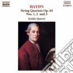 Haydn Franz Joseph - Quartetto X Archi N.1, N.2, N.3 Op.64 cd musicale di Haydn franz joseph