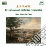 INVENZIONI E SINFONIE (INTEGRALE), FRAMM cd musicale di Johann Sebastian Bach