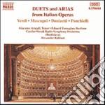 ARIE E DUETTI ITALIANI cd musicale di Alexander Rahbari