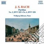 Bach J.S. - Partita N.5 Bwv 829, N.6 Bwv 830 cd musicale di Johann Sebastian Bach