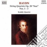 QUARTETTO X ARCHI N.25, N.26, N.28 OP.20 cd musicale di Haydn franz joseph