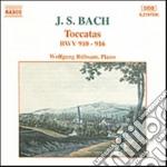 Bach Johann Sebastian - Toccate Bwv 910-916 cd musicale di Johann Sebastian Bach