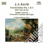 Bach Johann Sebastian - Suites Francesi Nn.1 E 2 Bwv 812, 813, Concerto Italiano Bwv 971, ... cd musicale di Johann Sebastian Bach