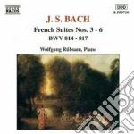 Bach J.S. - Suites Francesi Nn.3-6 Bwv 814-817 cd musicale di Johann Sebastian Bach