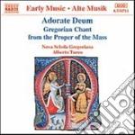 ADORATE DEUM (CANTO GREGORIANO PER IL PR cd musicale di Alberto Turco