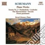 Schumann Robert - Sonata N.2 Op.22, Arabesque Op.18, Nachtstucke Op.23, Toccata Op.7, Presto Passi cd musicale di Robert Schumann