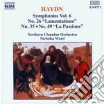 Haydn Franz Joseph - Sinfonia N.26