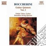 QUINTETTI X CHITARRA E ARCHI VOL.3: QUIN cd musicale di Zoltan Tokos