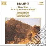 Brahms Johannes - Trio X Pf N.3 Op.101, In La Mag Op.postuma cd musicale di BRAHMS