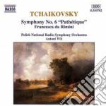 SIMP.N.6 PATHETIQUE cd musicale di Ciaikovski pyotr il'