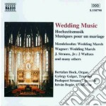 WEDDING MUSIC cd musicale