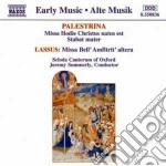 MISSA HODIE CHRISTUS NATUS EST, STABAT M cd musicale di PALESTRINA-LASSUS