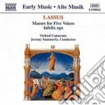MISSA ENTRE VOUS FILLES, MISSA SUSANNE U cd musicale di Orlando Lassus