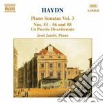 SONATE X PF VOL.3: SONATA X PF N.53 > N. cd musicale di Haydn franz joseph