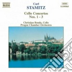 CONCERTO X VLC N.1, N.2, N.3 cd musicale di Carl Stamitz
