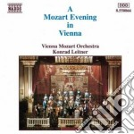 Mozart Wolfgang Amadeus - Una Sera A Vienna: K.384,527,525,467,551,219,527,620... cd musicale di Wolfgang Amadeus Mozart