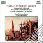 Concerti Grossi Di Sammartini, Albinoni, Vivaldi, Locatelli, Manfredini, Corelli cd musicale