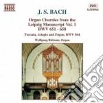 Bach Johann Sebastian - Corali Dal Manoscritto Di Lipsia, Vol.1: Bwv 651-658, 564 cd musicale di Johann Sebastian Bach