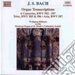 ORGAN TRASCRIPTIONS (BWV 594, 593, 587, cd musicale di Johann Sebastian Bach