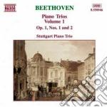 Beethoven Ludwig Van - Trii X Pf E Archi Vol.1: Trio N.1 Op.1,n.2 Op.1 cd musicale di Beethoven ludwig van