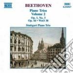 Beethoven Ludwig Van - Trii X Pf E Archi Vol.2: Trio N.3 Op.1,hess 48, Woo 38, Variazioni Op.44 cd musicale di Beethoven ludwig van