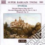 DANZE SLAVE (OPP.46 & 72), RAPSODIA OP.1 cd musicale di Antonin Dvorak