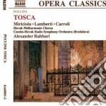 TOSCA, OPERA IN 3 ATTI cd musicale di PUCCINI