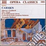 CARMEN, OPERA IN 4 ATTI cd musicale di George Bizet