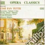 COSI' FAN TUTTE, OPERA BUFFA IN 2 ATTI cd musicale di Wolfgang Amadeus Mozart
