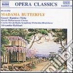 MADAMA BUTTERFLY, OPERA IN 3 ATTI cd musicale di PUCCINI