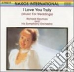 Richard Hayman Symphony Orchestra - I Love You Truly cd musicale