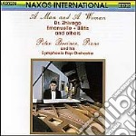 A Man And A Woman - Brani Celebri Per Pianoforte E Orchestra - Breiner/Breiner Symphonic Pop Orchestra cd musicale