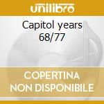Capitol years 68/77 cd musicale di The Band