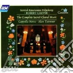Complete sacred choral music cd musicale di Robert Carver
