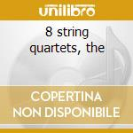 8 string quartets, the cd musicale di Malipiero g. frances