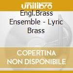 Lyric brass english brass cd musicale di Grieg edvard h.