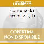 Canzone dei ricordi v.3, la cd musicale di Giuseppe Martucci