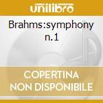 Brahms:symphony n.1 cd musicale di Artisti Vari