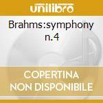 Brahms:symphony n.4 cd musicale di Artisti Vari