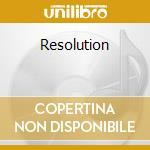 Resolution cd musicale di Anthony Pappa
