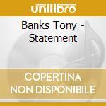 Bankstatement cd musicale di Tony Banks