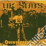 Uk Subs - Quintessentials cd musicale di Subs Uk