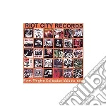 RIOT CITY SINGLES COLLEC                  cd musicale di Artisti Vari