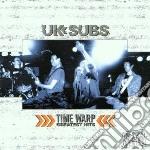 Uk Subs - Timewarp - Greatest Hits cd musicale di Subs Uk