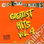Cockney Rejects - Greatest Hits Vol.4 cd musicale di Rejects Cockney